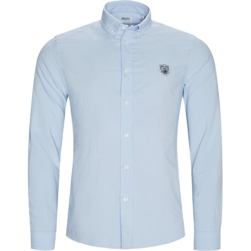 kenzo – Kenzo casual fit f965ch4001lb skjorter light blue fra axel.dk